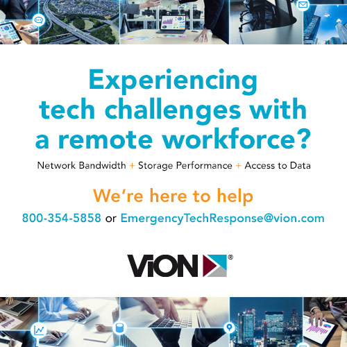 Experiencing tech challenges with a remote workforce? We're here to help 24/7. | Vion MarketPlace