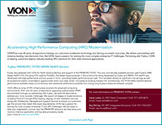 Cover of Accelerating High Performance Computing (HPC) Modernization solution brief