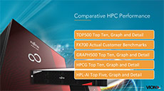 Cover of Comparative HPC Performance Presentation