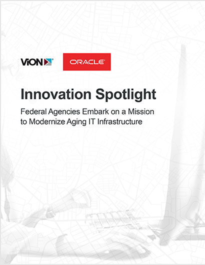 Cover of Innovation Spotlight with ViON and Oracle